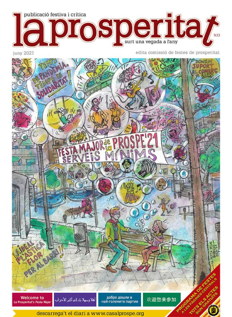 La Prosperitat, el diari de la Festa Major